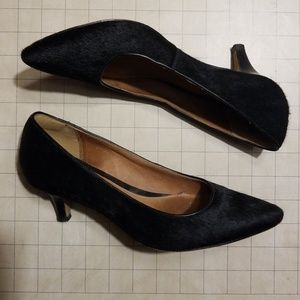 Clarks Artisian Low Black Heels size 7